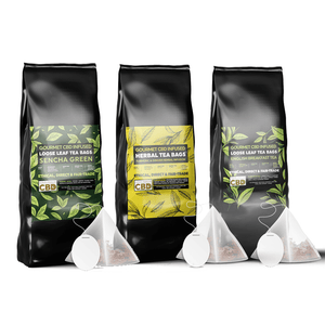 EQUILIBRIUM CBD LOOSE LEAF TEA BAGS (PACK OF 12)