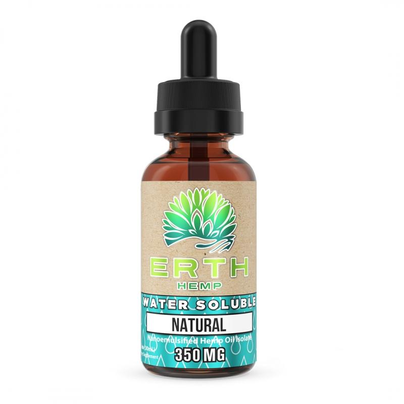ERTH WATER SOLUBLE CBD 350MG (30ML)