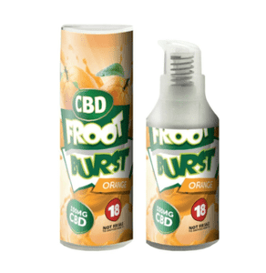 FROOT BURST ORANGE CBD E-LIQUID 250mg - 2000MG - 15ML