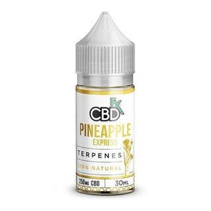 CBDFX CBD TERPENE INFUSED E-LIQUID PINEAPPLE EXPRESS 250MG - 500MG  - 30ML