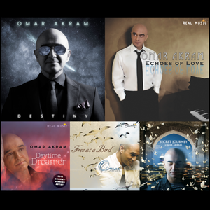 Omar Akram CD Collection