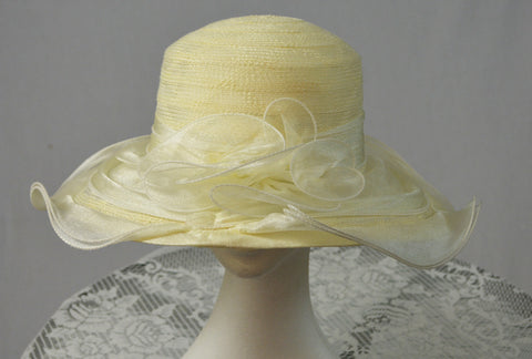 Buttercup Cream Ladies Hat