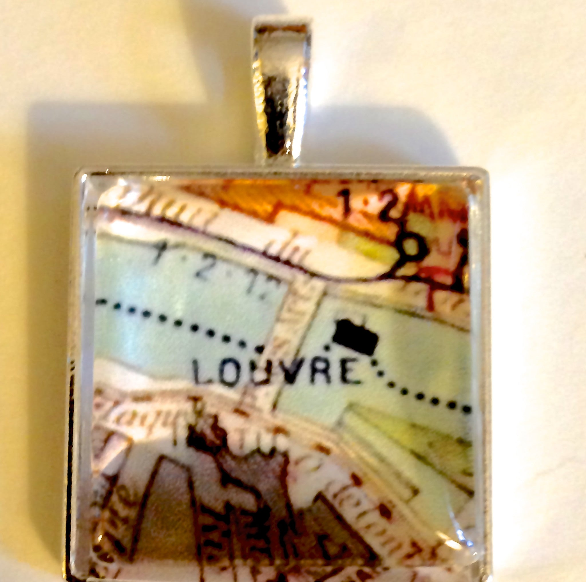 Custom Paris Pendant