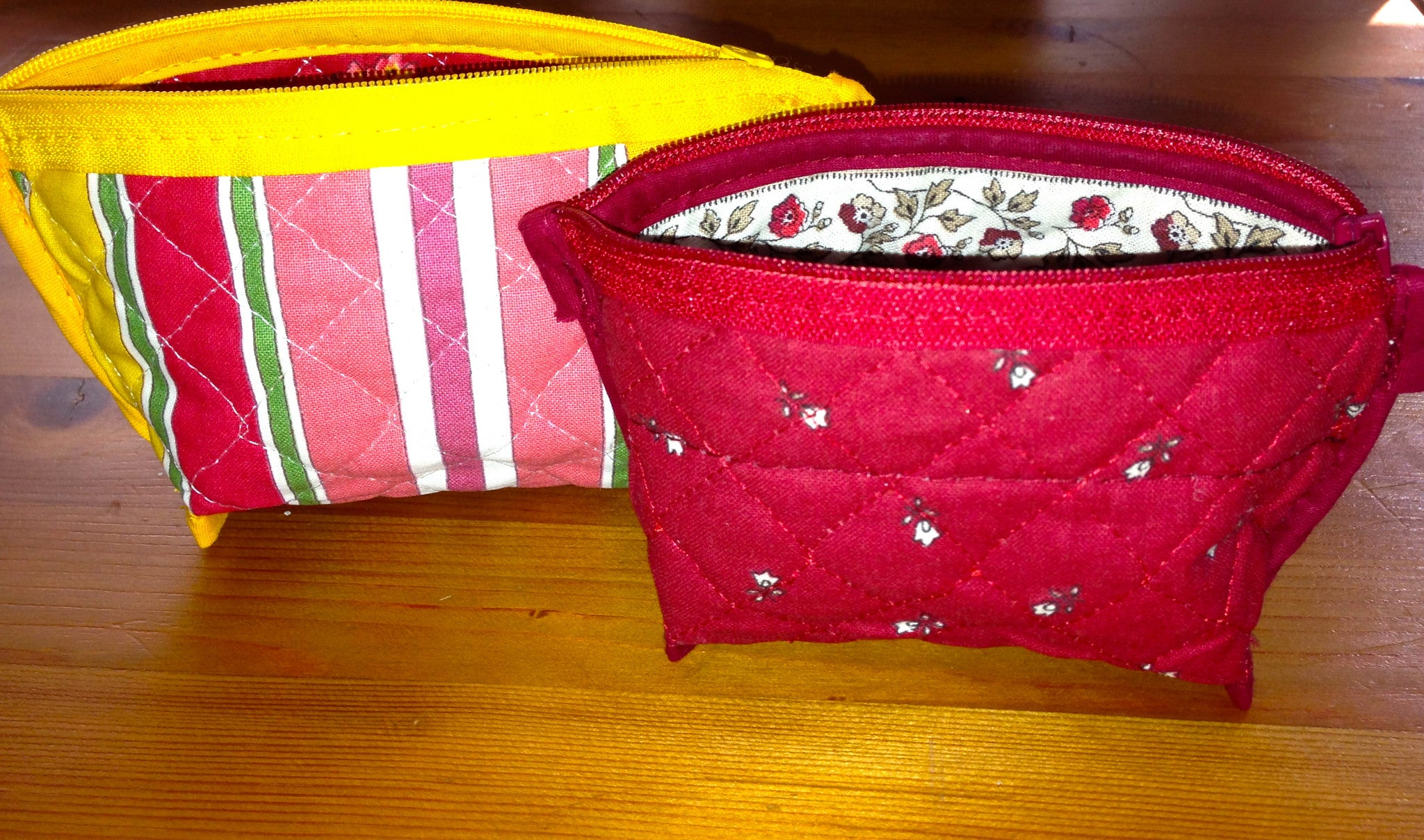 Quilted Provence Lipstick Bag