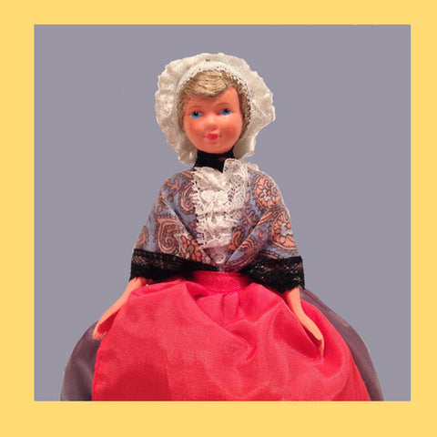 French Souvenir Doll from Provence