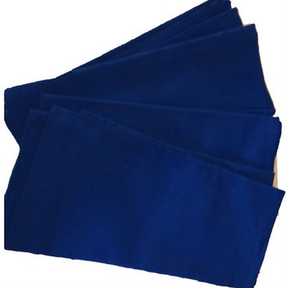 Royal Blue Cloth Napkins from France