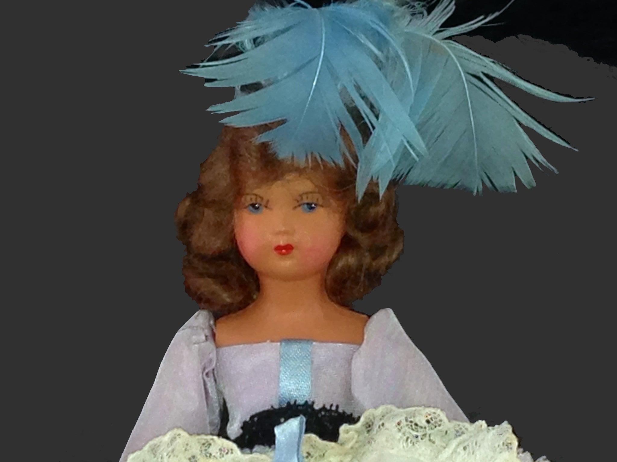 Vintage French Cancan doll