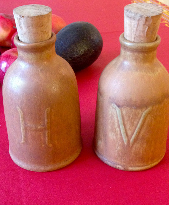 Vintage French Oil and Vinegar Cruet