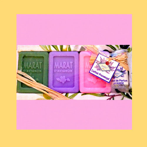 Provence Lavender and  Soap Gift  Box