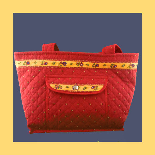 Quilted Provence Shopper