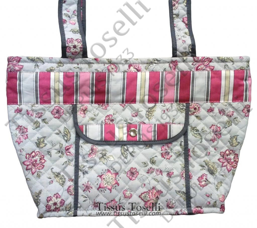 Quilted Provence Overnight Bag