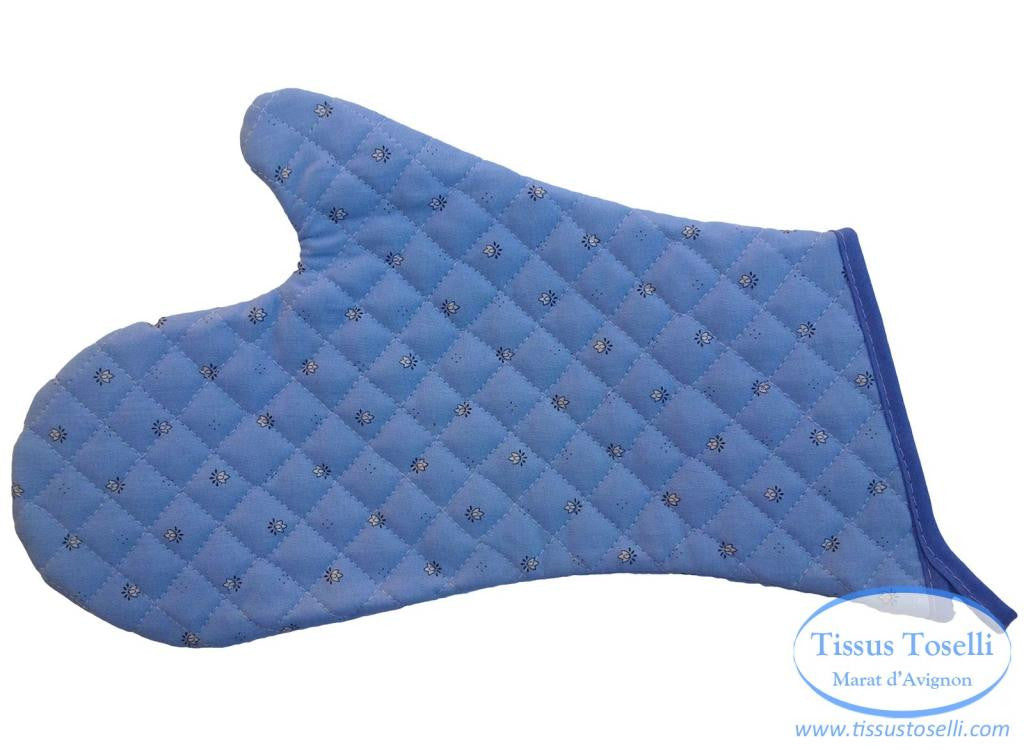 French Quilted Oven Mitt