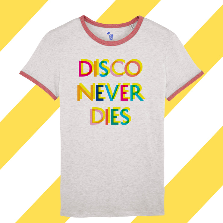 T-shirt - Disco Never Dies