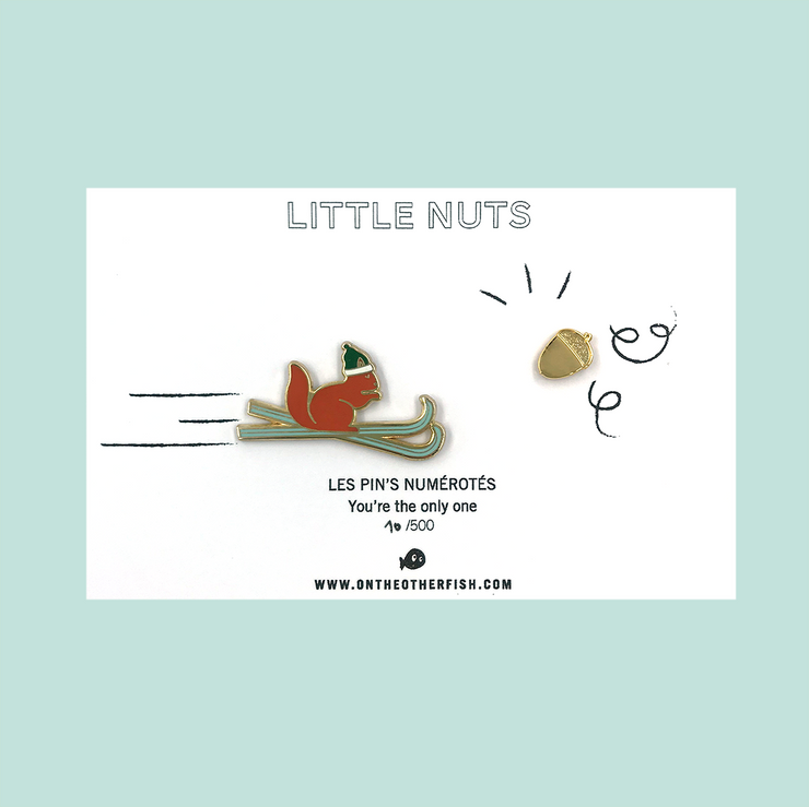 Pin's - Little Nuts