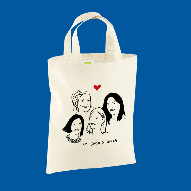 Mini Tote Bag - On vous tire le portrait