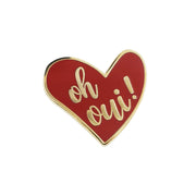 coeur, rouge, oh yes, oh oui, pins, red
