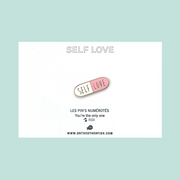 Pin's - Self love