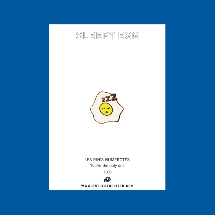 egg, omelette, dormir, sleeping, pins