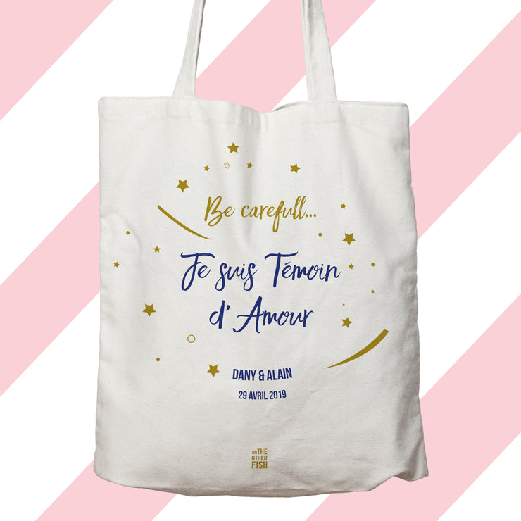 Sac - Be Carreful ... Témoin d'Amour