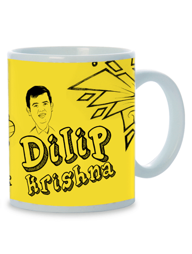 Special Place in My Life, Personalized Caricature Mug for him