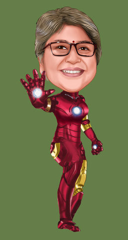 Iron Man Caricature