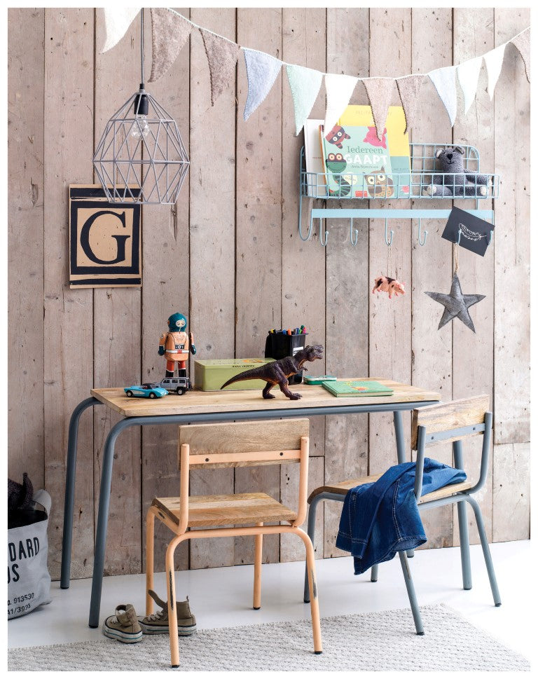 Growing Footprints Scandinavian Kids study desk area