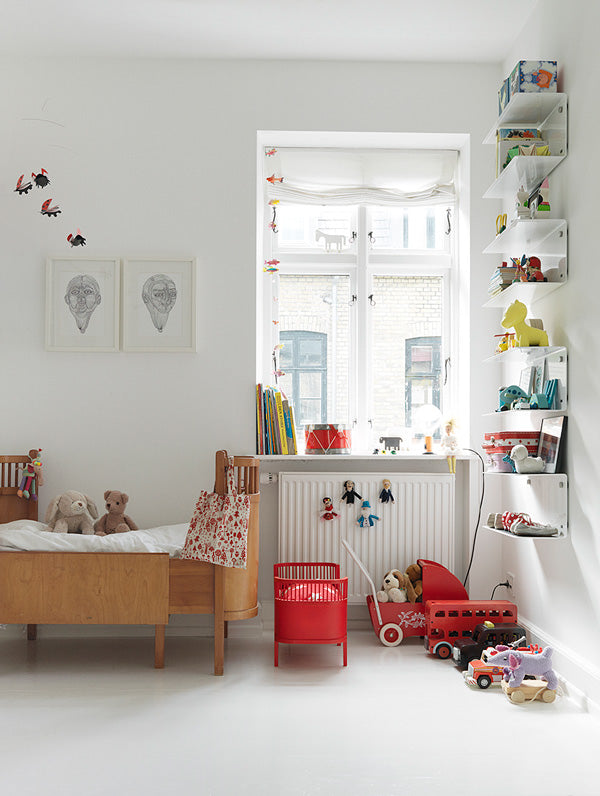 Growing Footprints Scandinavian Kids Room Inspiration wooden beds