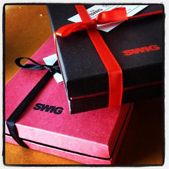 SWIG Hip Flask Gift Packaging