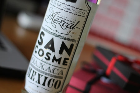 Mezcal San Cosme for your SWIG Hip Flask
