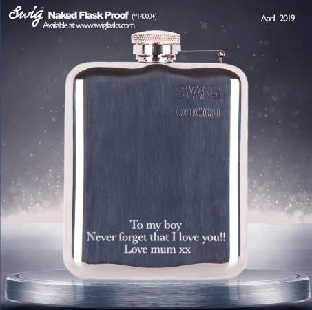 SWIG Flasks Engraving Proof
