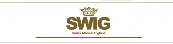 SWIG Hip Flasks logo for the SWIG Hip Flask website (www.swigflasks.com)