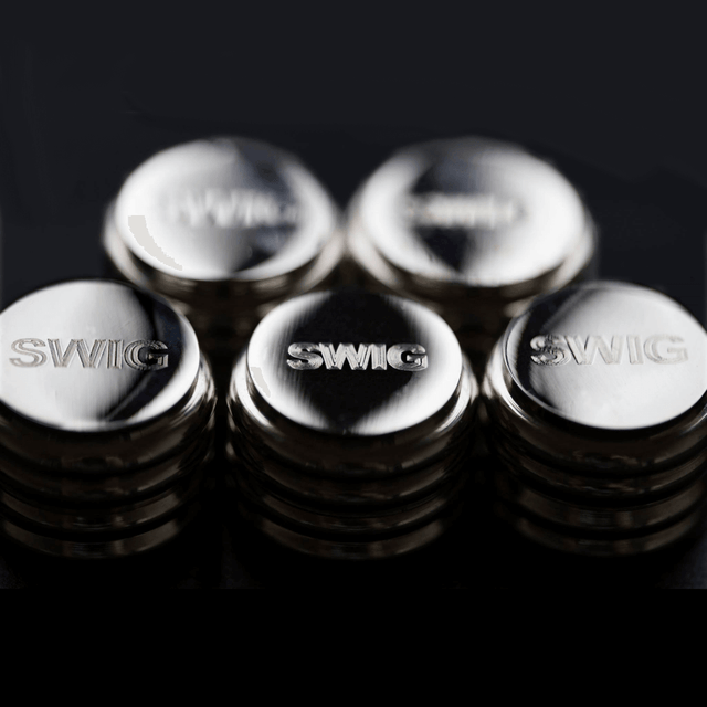 SWIG Hip Flasks Screw Top