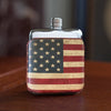 SWIG Executive Moulded Stars n Stripes Flask