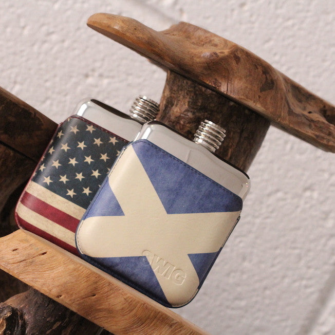 SWIG Executive Moulded Scottish Flask