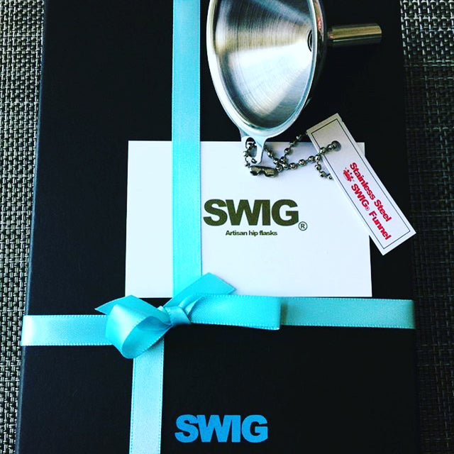 SWIG Flasks Gift Wrapping