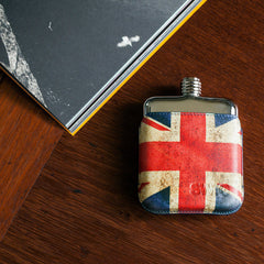 SWIG Union Jack Executive Flask - book