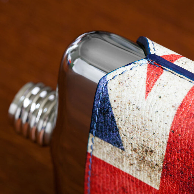 SWIG Union Jack Executive Flask - Side