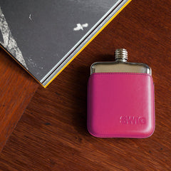 SWIG Pink Executive Hip Flask- Down