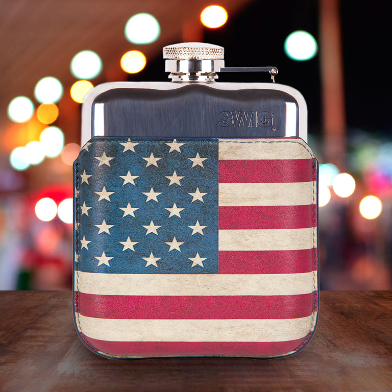 SWIG Hip Flasks Capped Hip Flask - Executive USA