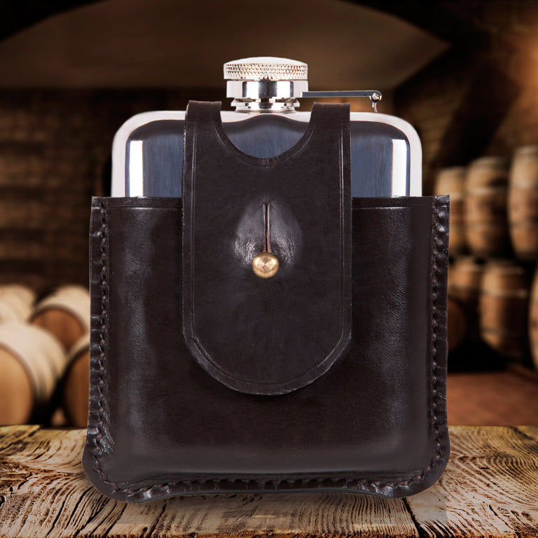SWIG Hip Flasks Capped Hip Flask - Scottish Heritage