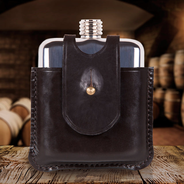 SWIG Scottish Heritage Hip Flask - Front
