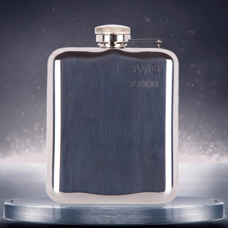 SWIG® Capped Hip Flask
