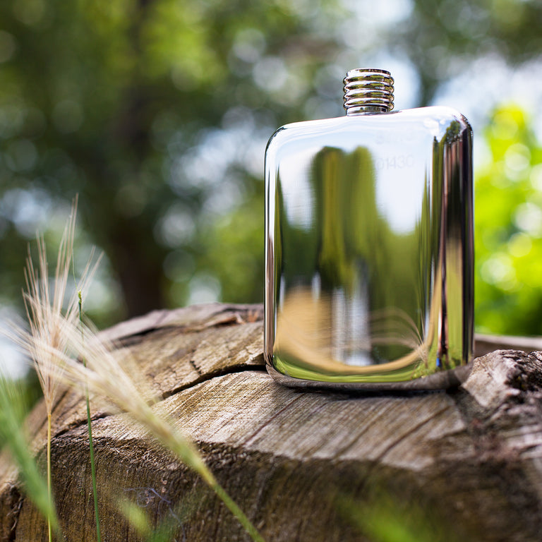 SWIG Hip Flasks Classic Flask Side