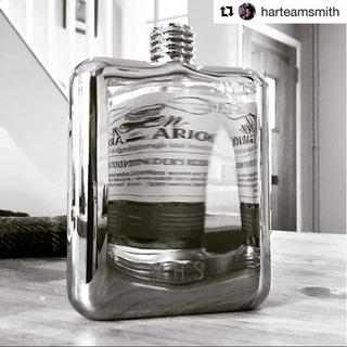 Swig moments 6 - engraved leather flask