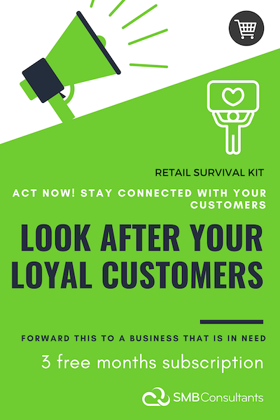 Retail Relief Package | Reach Your Existing Customers & Get Online