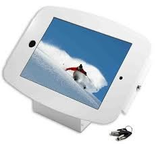 ML iPad Space Aluminium Enclosure Kiosk, WHITE