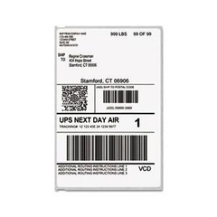 DYMO Labelwriter 4XL Shipping Labels 104mm x 159mm 220/Roll