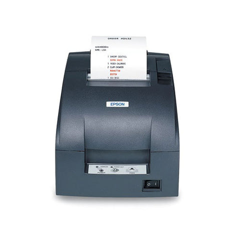 Dot Matrix Kitchen Receipt Printer Ethernet Black