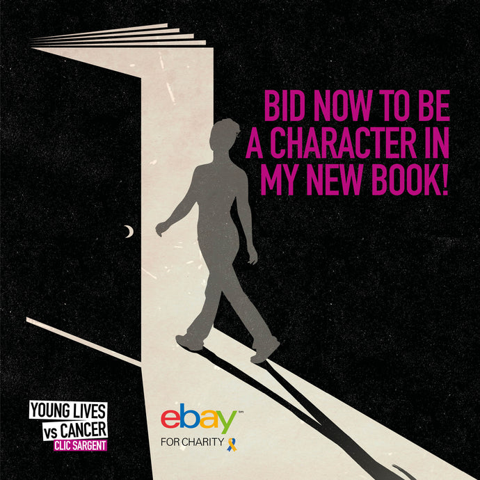 Bid Now To Be A Character In My New Book!