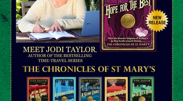 Cardiff Book Signing with Jodi Taylor at Octavo's Book Cafe & Wine Bar